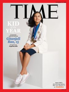 Gitanjali Rao on the cover of TIME Magazine