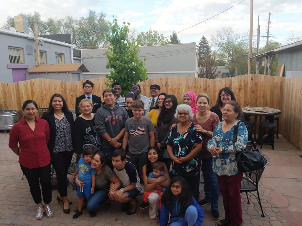 Group photo of Colorado residents of varying ages.